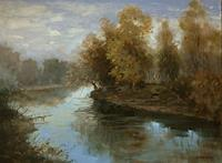 A. Jen, Morning on the River