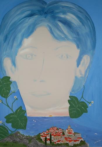 Marija Weiss, Dr., Mit der Heimat im Herzen, Landscapes: Sea/Ocean, Emotions, Neo-Expressionism