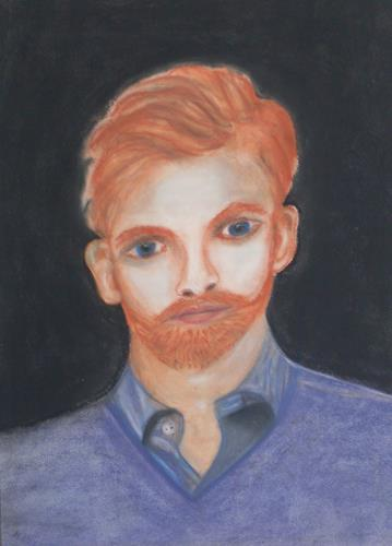 Marija Weiss, Dr., Junger Mann, People, People: Portraits, Contemporary Art