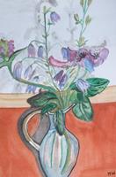Marija-Weiss--Dr-Plants-Flowers-Still-life-Modern-Age-Expressive-Realism
