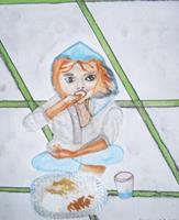 Marija-Weiss--Dr-People-Children-Emotions-Joy-Modern-Age-Expressive-Realism