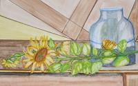 Marija-Weiss--Dr-Still-life-Plants-Contemporary-Art-Contemporary-Art