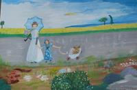 Marija-Weiss--Dr-People-Group-People-Children-Modern-Age-Expressive-Realism