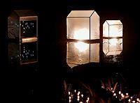 BERTOLOMEOS, Lichtklangnacht mit schwimmenden Licht(Klang)Häusern