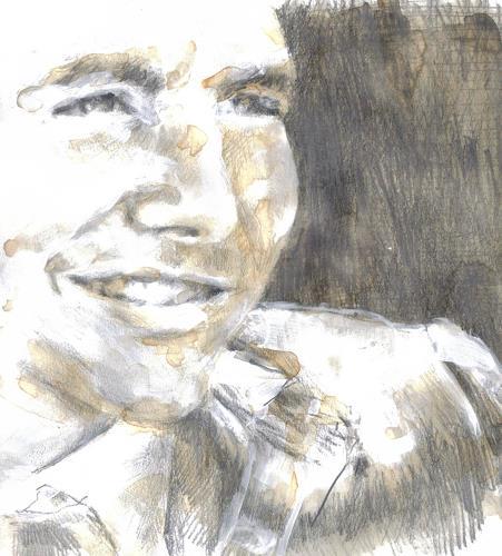 diemalerin-connystark, o.T, People: Men, People: Portraits, Contemporary Art