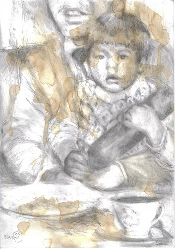 diemalerin-connystark, Nichts als Luft, People: Families, People: Children, Contemporary Art