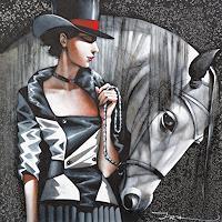 Ira-Tsantekidou-People-Women-Animals-Land-Modern-Age-Art-Deco