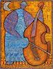 W. Safronow, Contrebasse, 90x70