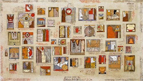 Wlad Safronow, Geschichten und Erzählungen, 80x140, History, Symbol, Expressionism