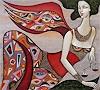 W. Safronow, Engel des Schicksals, 90x100