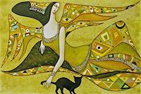 W. Safronow, Engel des Frühlings, 80x120