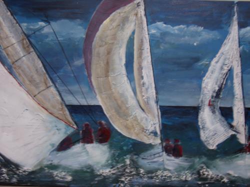 Sigrun Laue, Regatta II, Movement