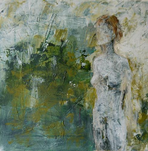 Sigrun Laue, Frühlingserwachen, People: Women, Abstract Expressionism