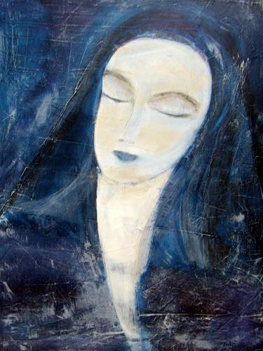 Sigrun Laue, Stille, People: Faces, Abstract Art