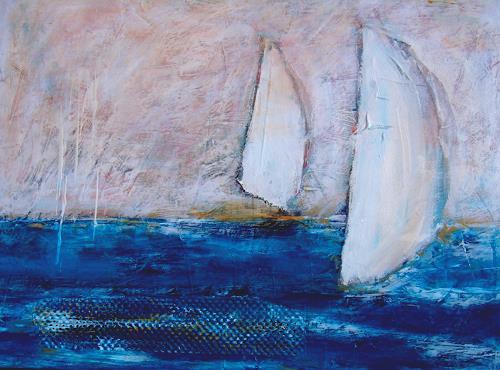 Sigrun Laue, 2 Segel, Leisure, Sports, Abstract Art