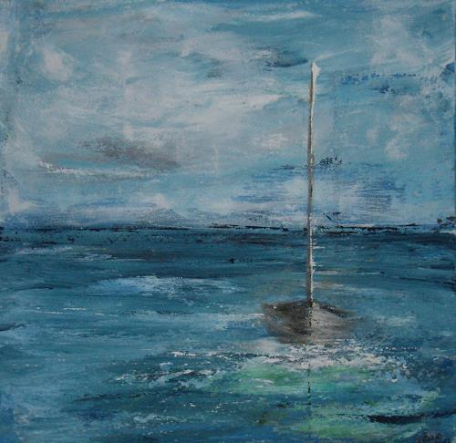 Sigrun Laue, stilles Segel, Nature: Water