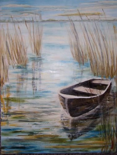Sigrun Laue, Stille, Landscapes: Sea/Ocean, Miscellaneous Romantic motifs