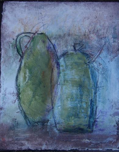 Sigrun Laue, Krüge, Still life, Abstract Art