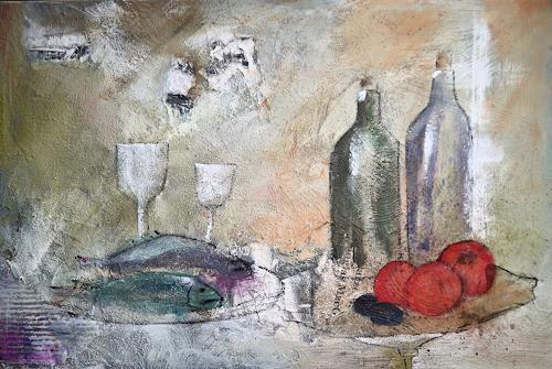 Sigrun Laue, beschwingt, Still life, Abstract Art