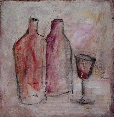 Sigrun Laue, beschwipst, Still life, Abstract Art