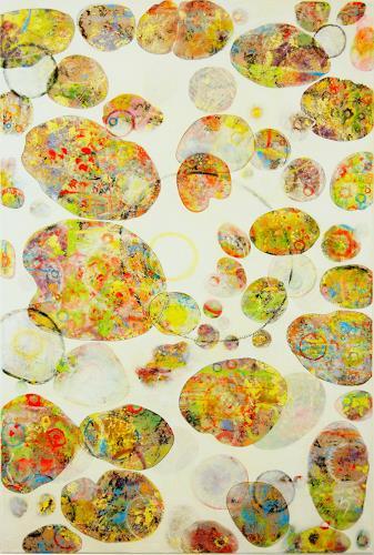 iris völzmann-handke, earthsong VI, Abstract art, Abstract art, Contemporary Art, Expressionism