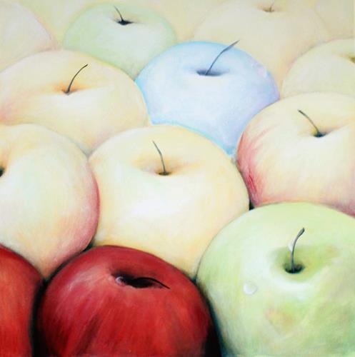 Jutta Mohorko, Der Einzige seiner Art, Plants: Fruits, Abstract Art, Expressionism