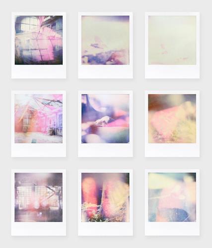 André Schäffer, Polaroidset 02 - 2019, Still life, Poetry, Abstract Art