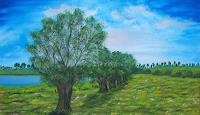 Susanne-Koettgen-Landscapes-Sea-Ocean-Plants-Trees-Modern-Times-Realism