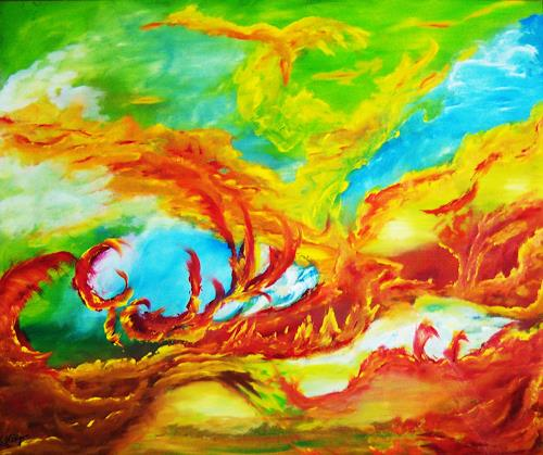 Susanne Köttgen, Kiluea, Abstract art, Abstract Art, Abstract Expressionism