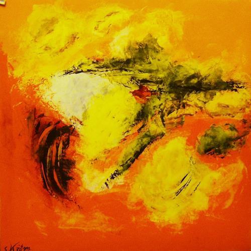 Susanne Köttgen, Hoffnung IV, Abstract art, Abstract Art