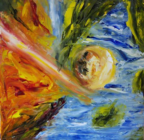 Susanne Köttgen, Nähe und Distanz, Abstract art, Abstract Art