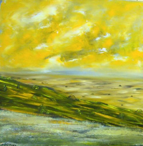 Susanne Köttgen, Wirklichkeit, Landscapes: Plains, Landscapes: Tropics, Realism, Abstract Expressionism