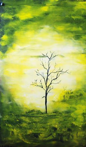 Susanne Köttgen, Mein Freund der Baum II, Abstract art, Plants: Trees, Modern Age