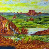 Susanne-Koettgen-Landscapes-Mountains-Nature-Rock-Modern-Times-Realism