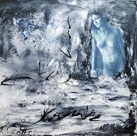 Susanne-Koettgen-Abstract-art-People-Women-Modern-Age-Expressionism-Abstract-Expressionism