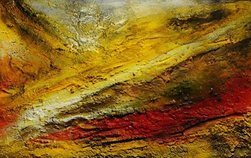 Susanne Köttgen, Steine, Landscapes, Abstract art, Abstract Expressionism