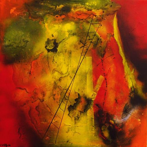 Susanne Köttgen, Werke der Liebe, Abstract art, Emotions: Love, Abstract Expressionism, Expressionism