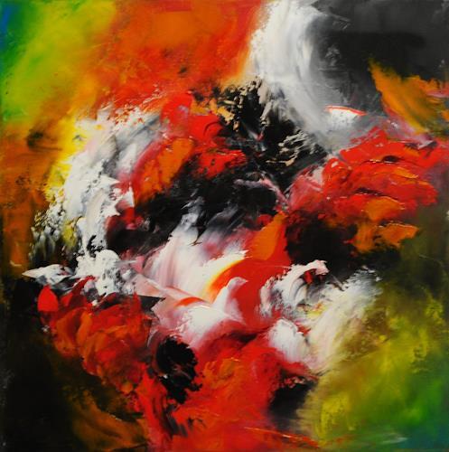 Susanne Köttgen, Farbige Seelenverwandtschaft, Abstract art, Abstract Expressionism
