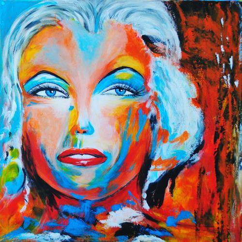Susanne Köttgen, Eine berühmte Schauspielerin (des 20. Jahrh.), People: Women, Modern Age, Abstract Expressionism