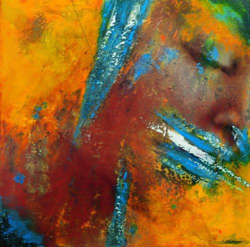 Susanne Köttgen, Schlafende, Abstract art, Abstract Expressionism