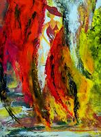 Susanne-Koettgen-Landscapes-People-Women-Modern-Age-Expressionism-Abstract-Expressionism