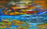 Susanne-Koettgen-Landscapes-Sea-Ocean-Landscapes-Plains-Modern-Age-Expressionism-Abstract-Expressionism