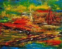 Susanne-Koettgen-Landscapes-Nature-Modern-Age-Expressionism-Abstract-Expressionism