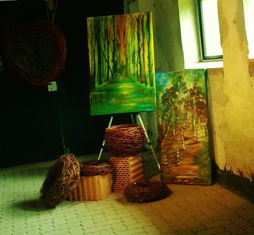 Susanne Köttgen, Herbstlandschaft, Miscellaneous, Abstract Expressionism