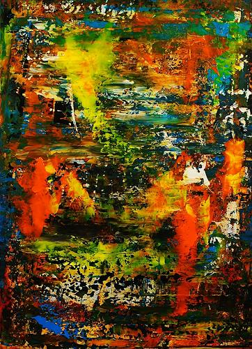 Susanne Köttgen, Abenteuer des Lebens, Abstract art, Fantasy, Abstract Expressionism