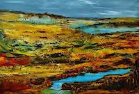 Susanne-Koettgen-Landscapes-Mountains-Landscapes-Plains-Modern-Age-Expressionism-Abstract-Expressionism