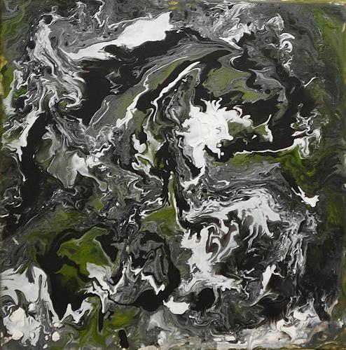 Susanne Köttgen, Schöpfung - Serie, Abstract art, Abstract Expressionism