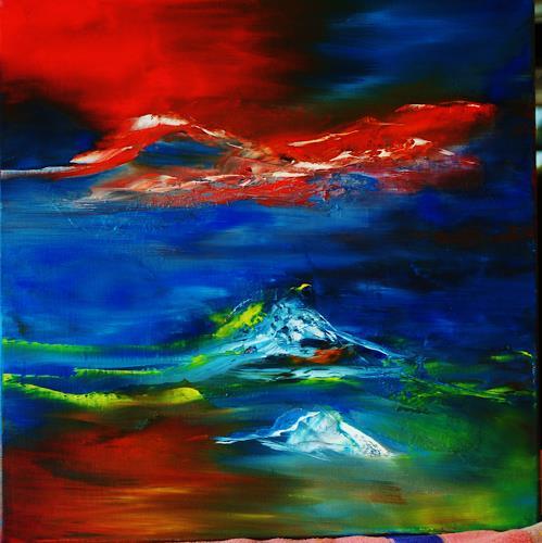 Susanne Köttgen, Landscape, Landscapes, Nature, Abstract Expressionism