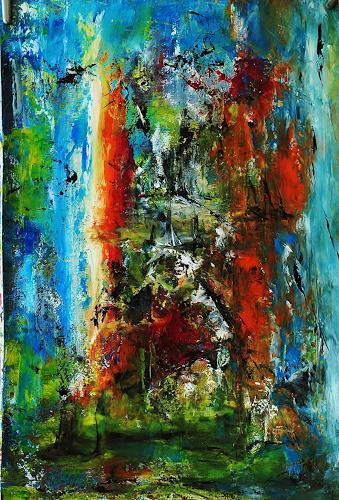 Susanne Köttgen, Gegen Schmerzen, Abstract art, Fantasy, Abstract Expressionism