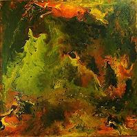 Susanne-Koettgen-Abstract-art-Mythology-Modern-Age-Expressionism-Abstract-Expressionism